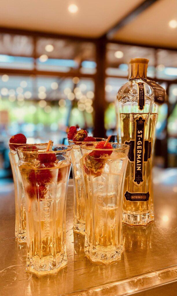 spritz st germain - le chalet des pierres jaumatres - bar restaurant dans la Creuse